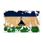 Lesotho Flag 22x14 Wall Peel