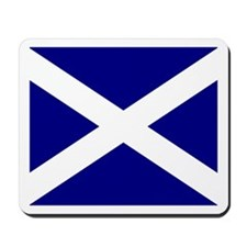 Flag of Scotland Mousepad