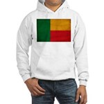 Benin Flag Hooded Sweatshirt
