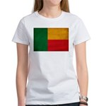 Benin Flag Women's T-Shirt