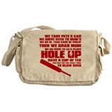 Hole Up Messenger Bag