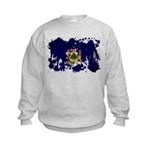 Maine Flag Kids Sweatshirt