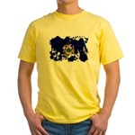 Maine Flag Yellow T-Shirt