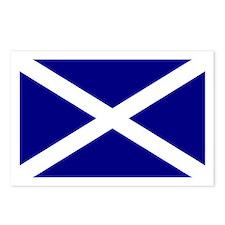 Scottish Flag Postcards (Packof 8)