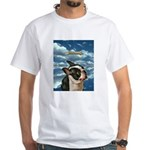 Boston Terrier White T-Shirt