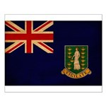 British Virgin Islands Flag Small Poster