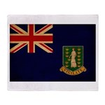 British Virgin Islands Flag Throw Blanket