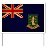 British Virgin Islands Flag Yard Sign