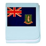 British Virgin Islands Flag baby blanket