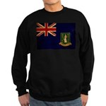 British Virgin Islands Flag Sweatshirt (dark)