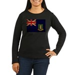 British Virgin Islands Flag Women's Long Sleeve Da