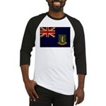 British Virgin Islands Flag Baseball Jersey