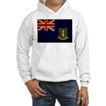 British Virgin Islands Flag Hooded Sweatshirt