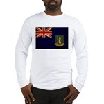 British Virgin Islands Flag Long Sleeve T-Shirt