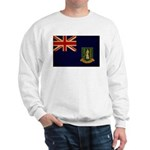 British Virgin Islands Flag Sweatshirt