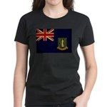 British Virgin Islands Flag Women's Dark T-Shirt