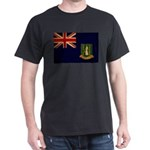British Virgin Islands Flag Dark T-Shirt