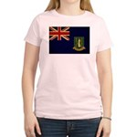 British Virgin Islands Flag Women's Light T-Shirt