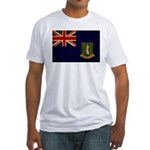 British Virgin Islands Flag Fitted T-Shirt