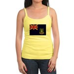 British Virgin Islands Flag Jr. Spaghetti Tank