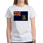 British Virgin Islands Flag Women's T-Shirt