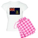 British Virgin Islands Flag Women's Light Pajamas