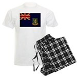 British Virgin Islands Flag Men's Light Pajamas