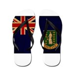 British Virgin Islands Flag Flip Flops