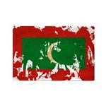 Maldives Flag Rectangle Magnet