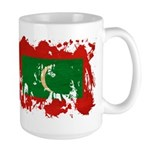 Maldives Flag Large Mug