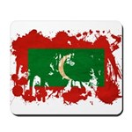 Maldives Flag Mousepad