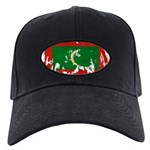 Maldives Flag Black Cap