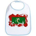 Maldives Flag Bib