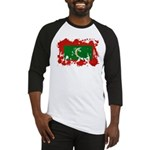 Maldives Flag Baseball Jersey