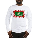 Maldives Flag Long Sleeve T-Shirt