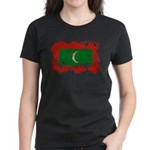 Maldives Flag Women's Dark T-Shirt