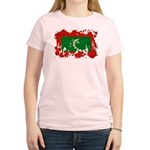 Maldives Flag Women's Light T-Shirt