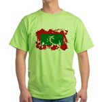 Maldives Flag Green T-Shirt