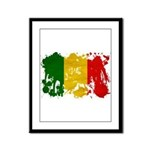 Mali Flag Framed Panel Print