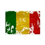 Mali Flag Rectangle Magnet (100 pack)