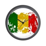Mali Flag Wall Clock