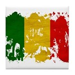 Mali Flag Tile Coaster