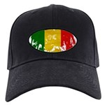 Mali Flag Black Cap