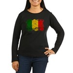 Mali Flag Women's Long Sleeve Dark T-Shirt