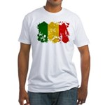 Mali Flag Fitted T-Shirt