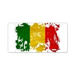 Mali Flag Aluminum License Plate