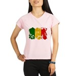 Mali Flag Performance Dry T-Shirt