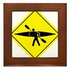 Kayak Crossing - Flatwater Framed Tile