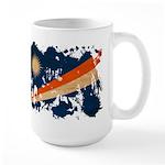 Marshall Islands Flag Large Mug