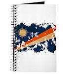 Marshall Islands Flag Journal